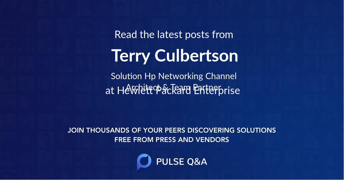 Terry Culbertson