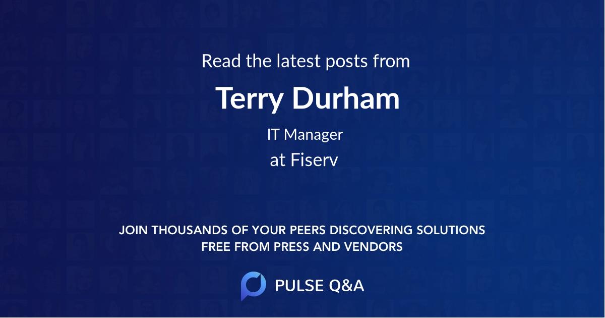 Terry Durham