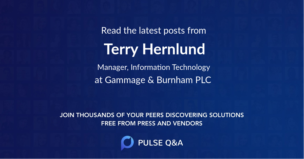 Terry Hernlund