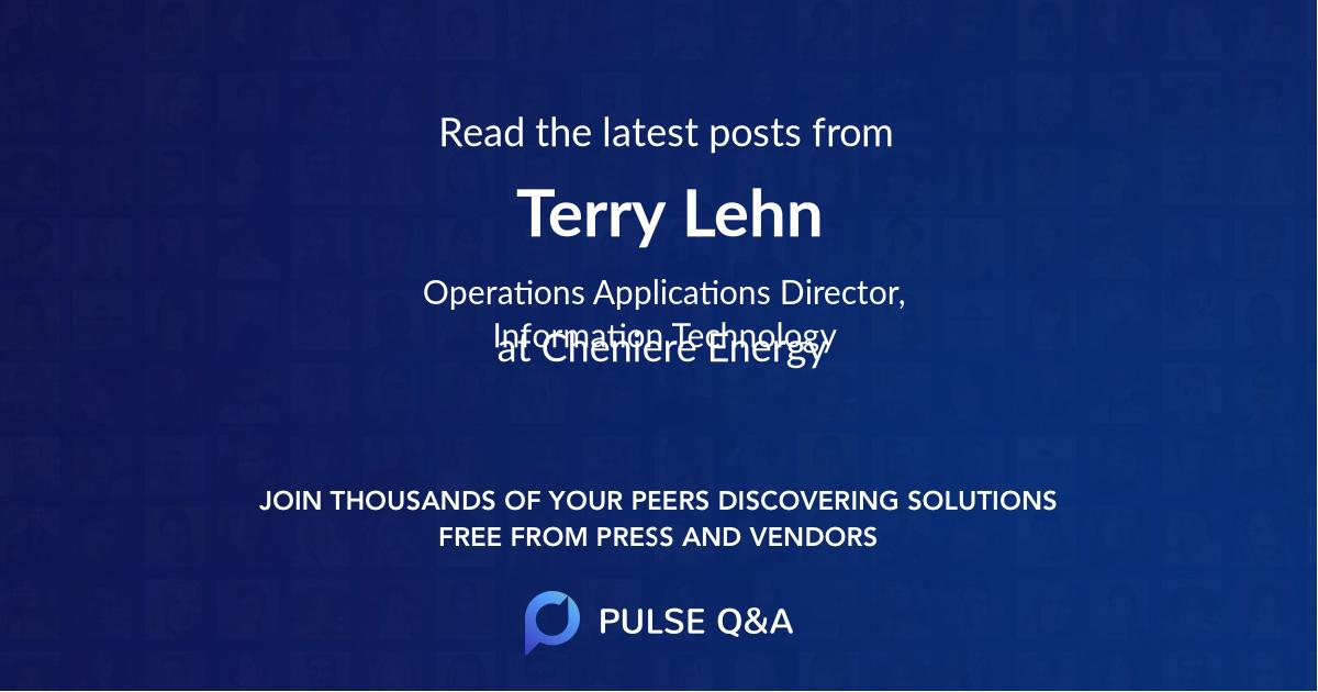 Terry Lehn