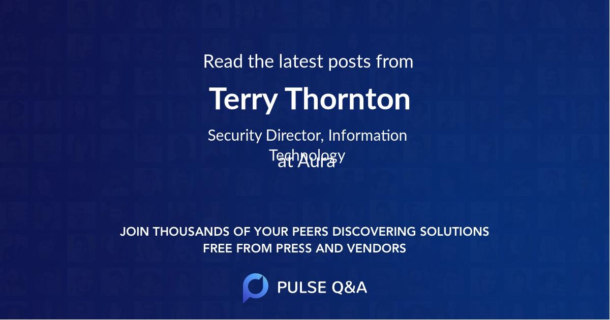 Terry Thornton