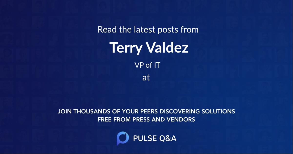 Terry Valdez