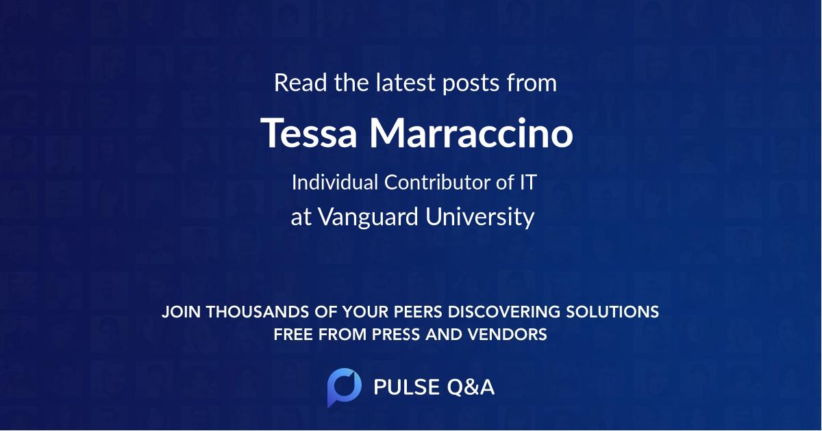 Tessa Marraccino
