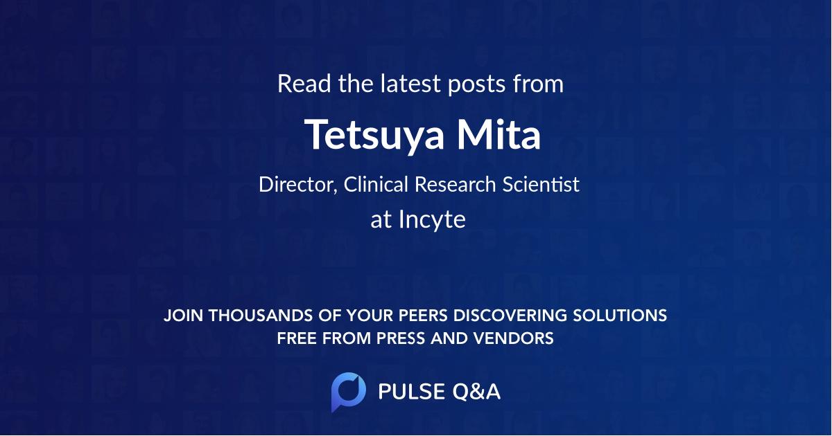 Tetsuya Mita