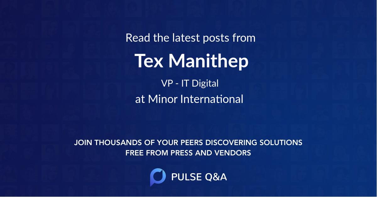 Tex Manithep