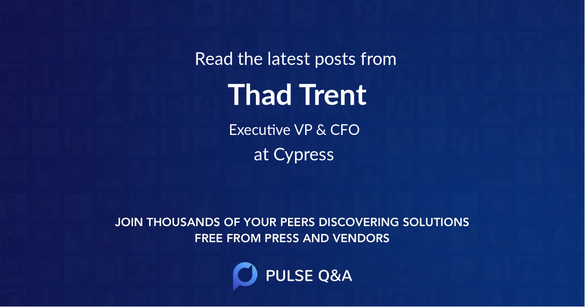 Thad Trent