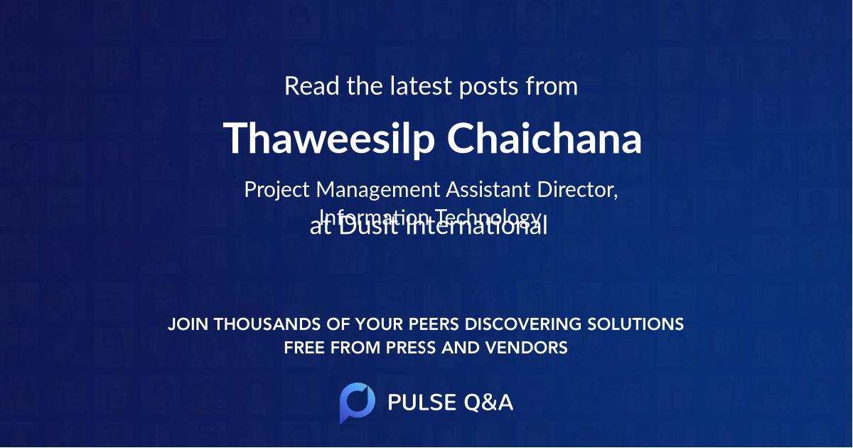 Thaweesilp Chaichana
