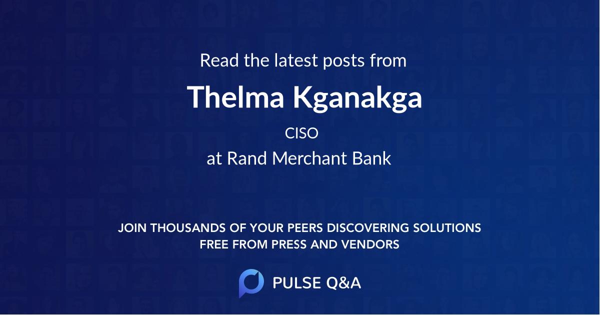 Thelma Kganakga