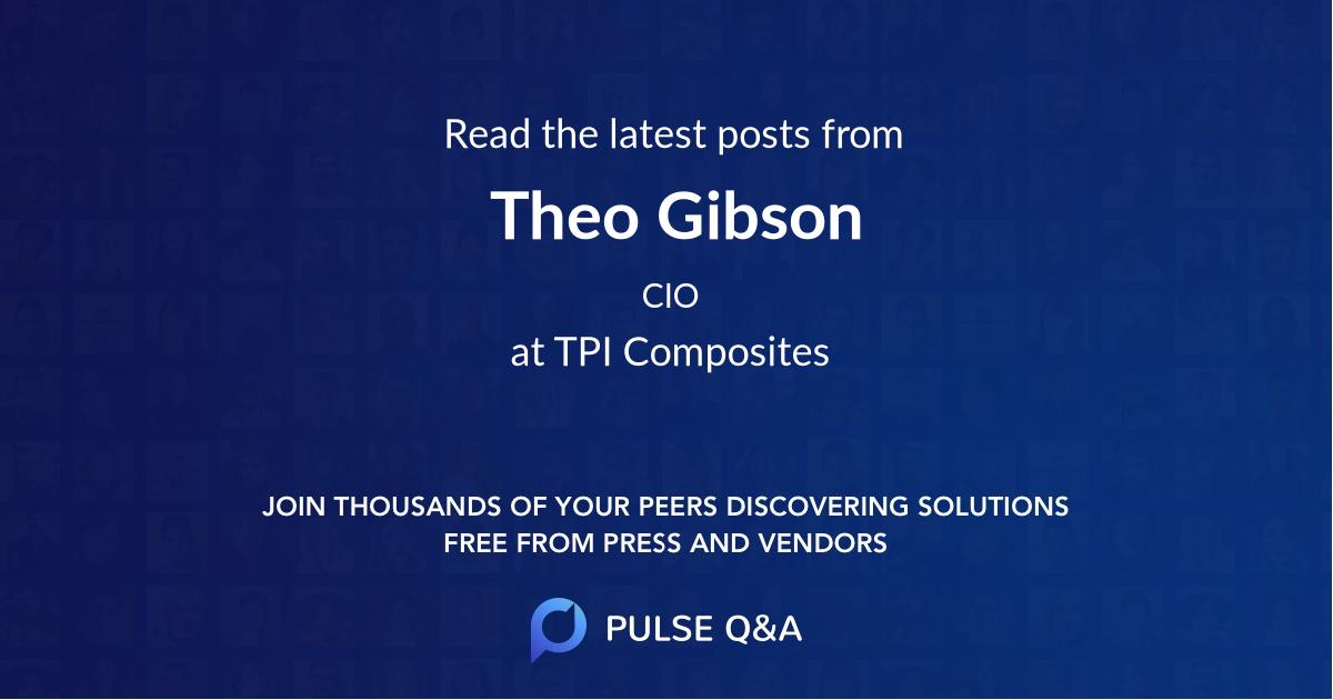 Theo Gibson