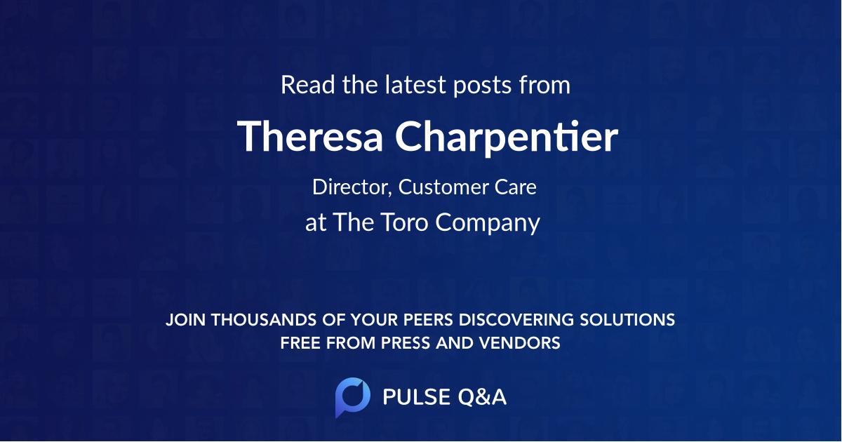 Theresa Charpentier