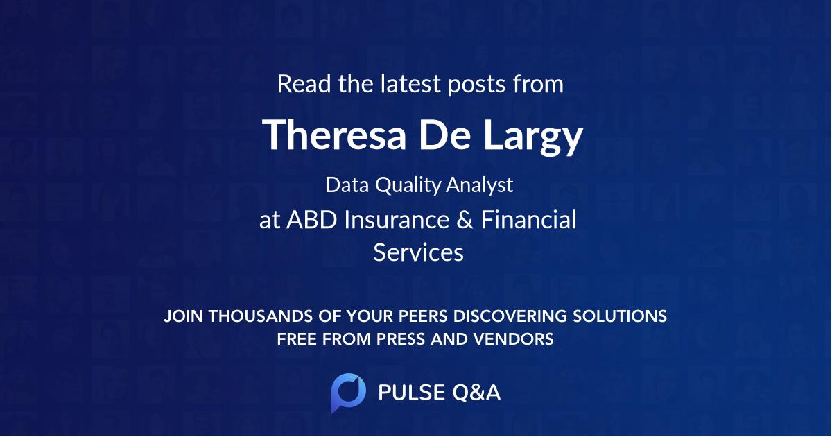 Theresa De Largy