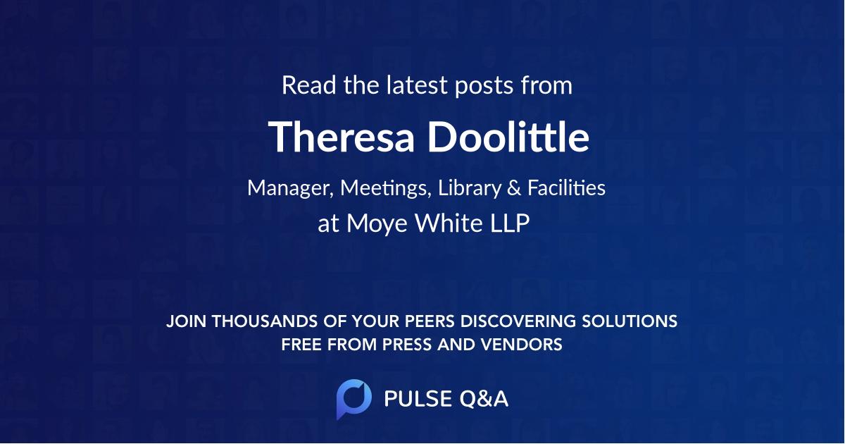 Theresa Doolittle