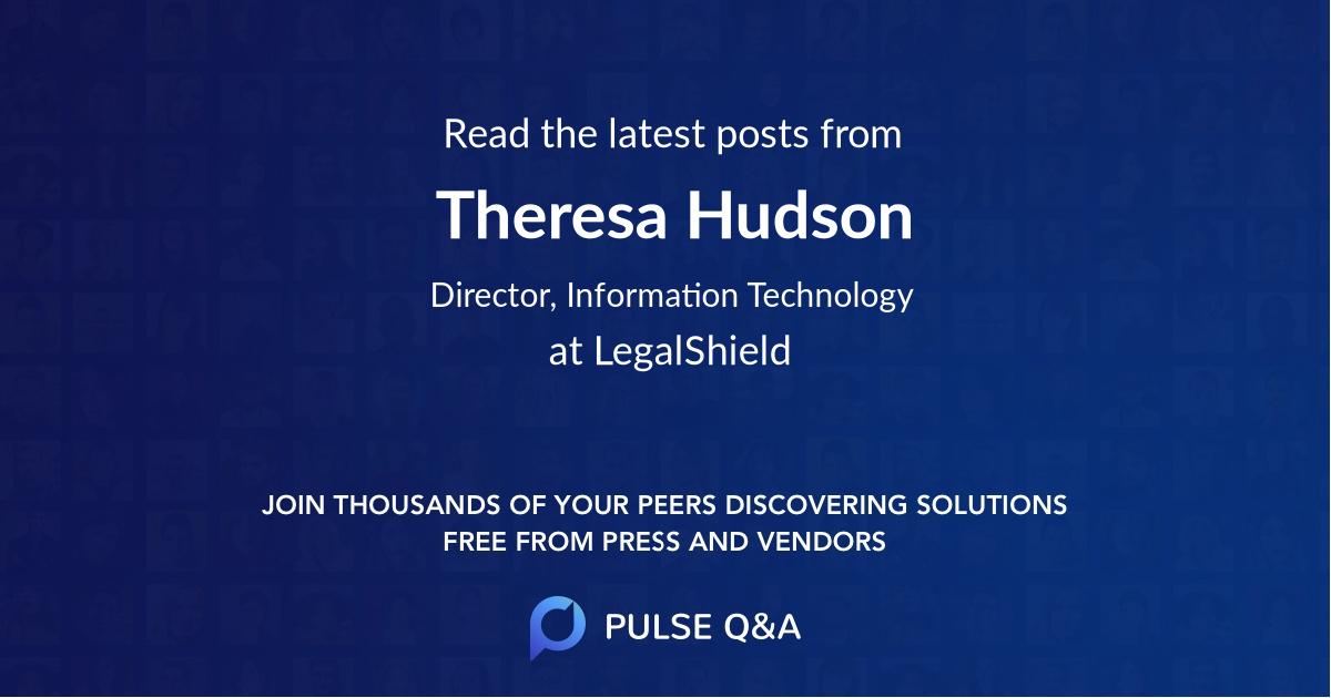 Theresa Hudson
