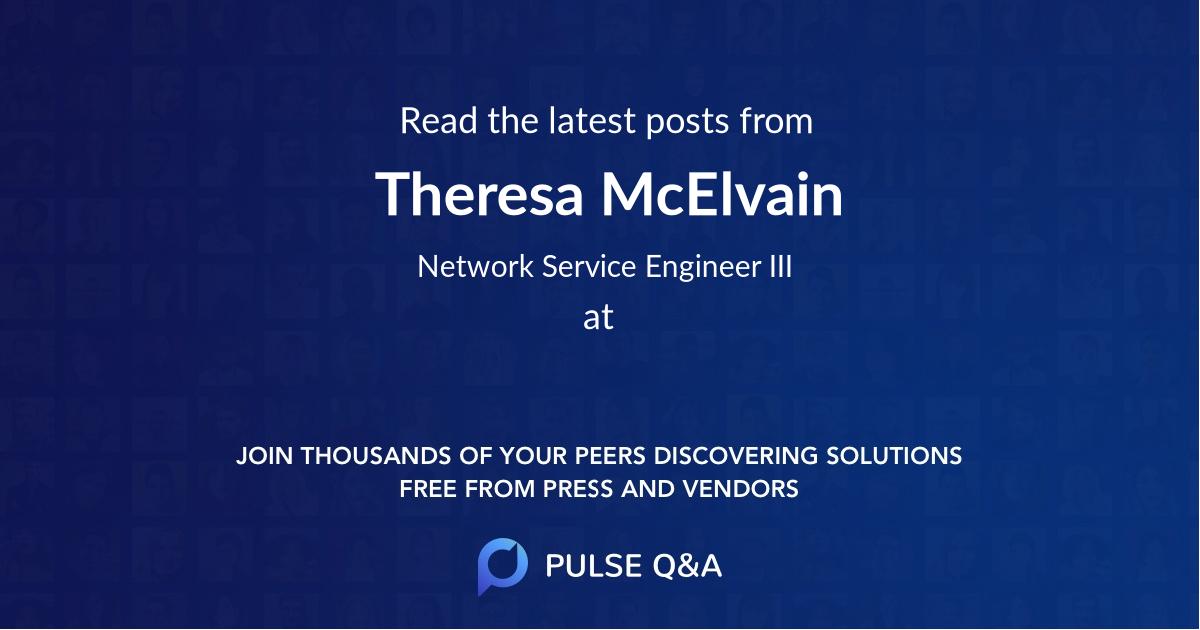 Theresa McElvain