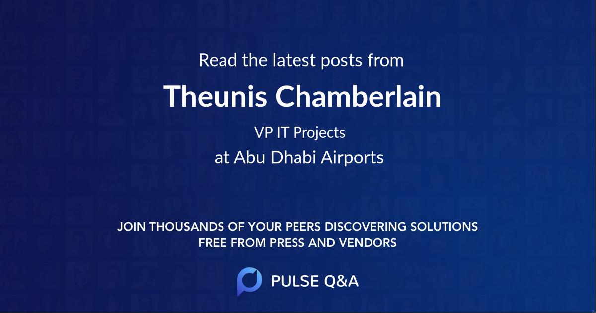 Theunis Chamberlain