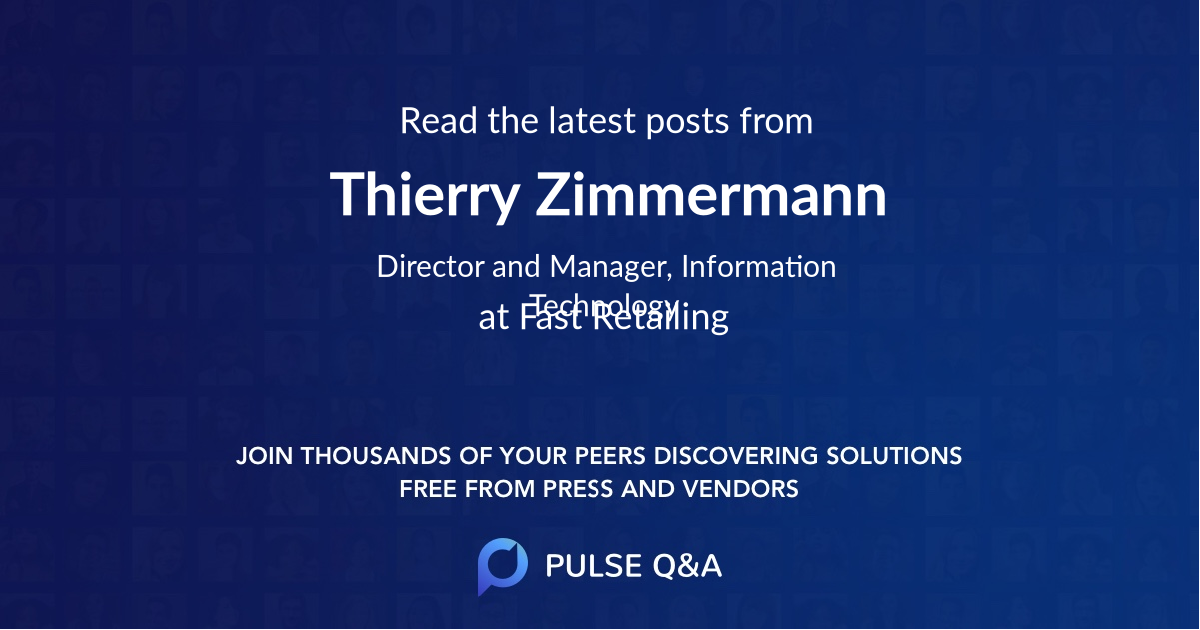 Thierry Zimmermann