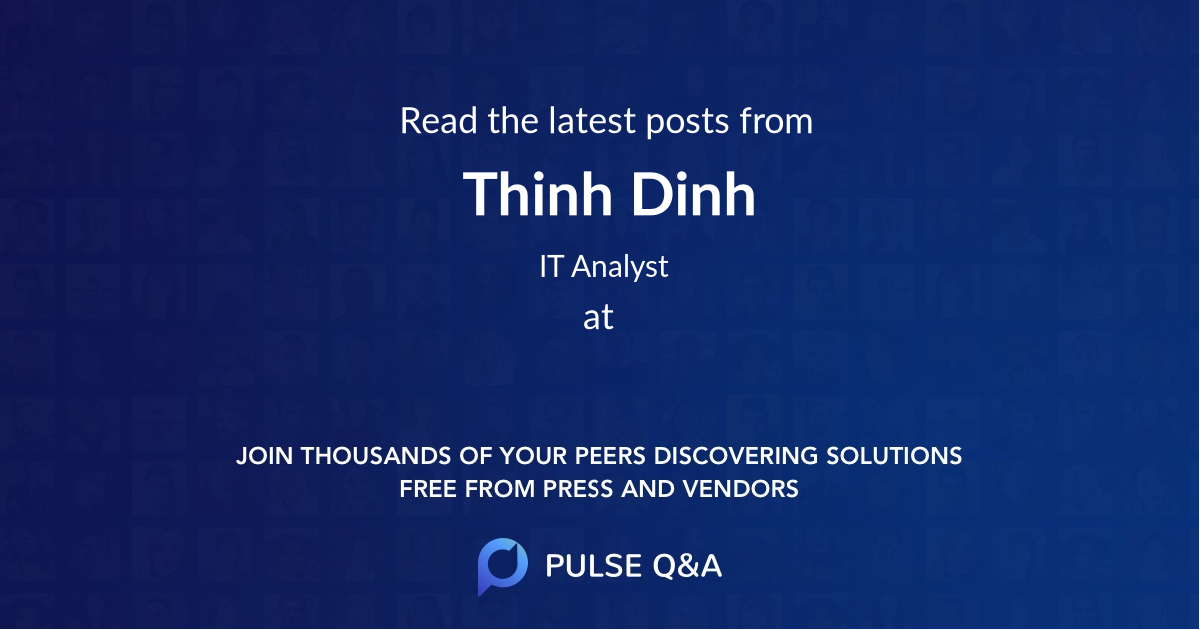 Thinh Dinh