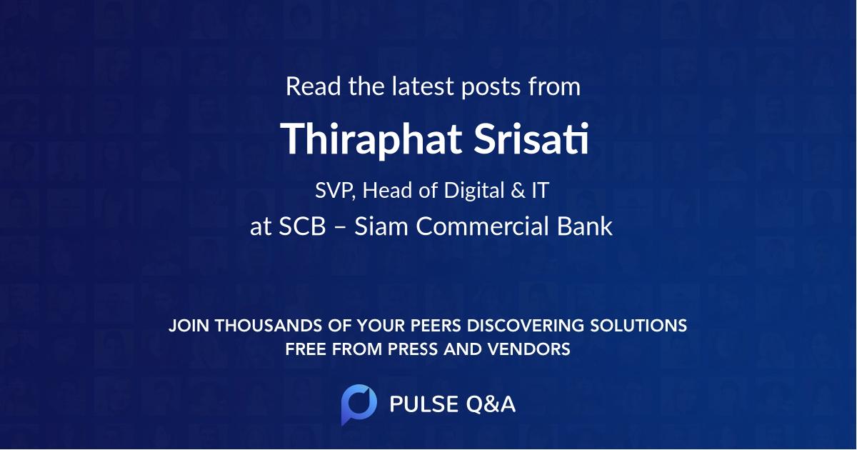 Thiraphat Srisati