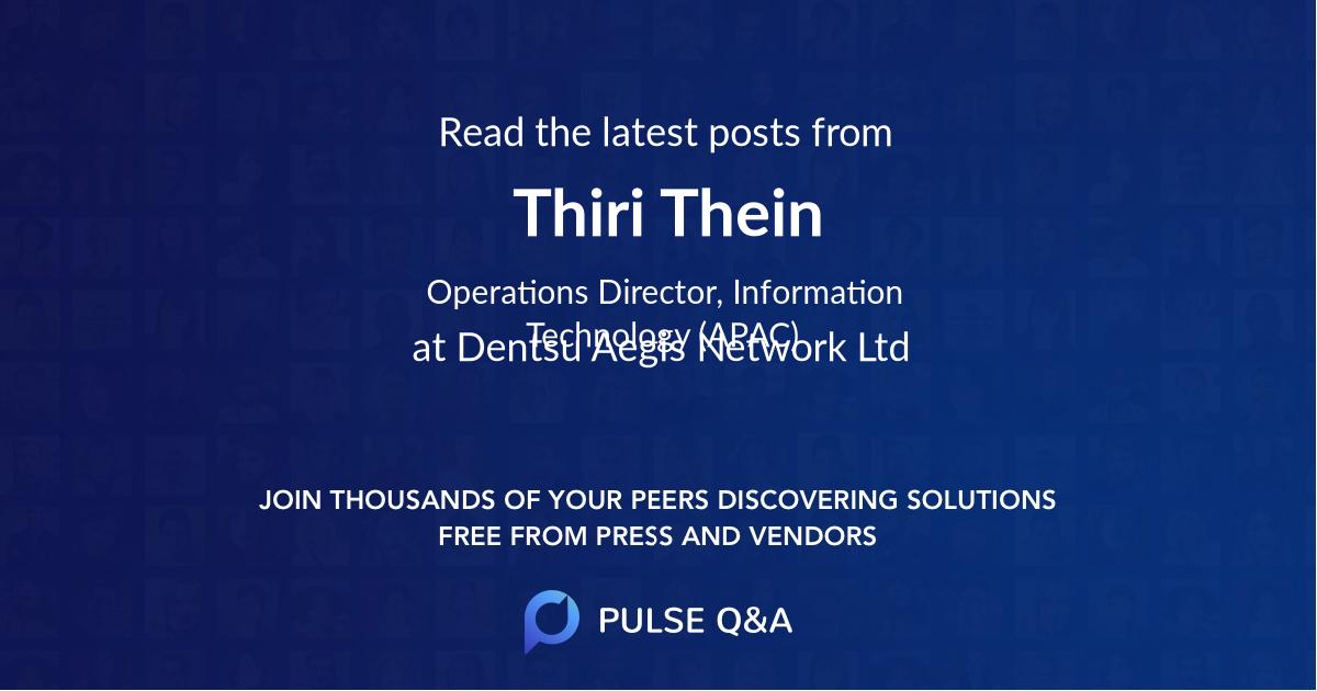 Thiri Thein