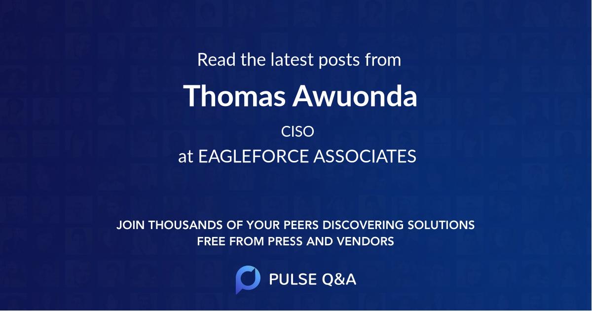 Thomas Awuonda