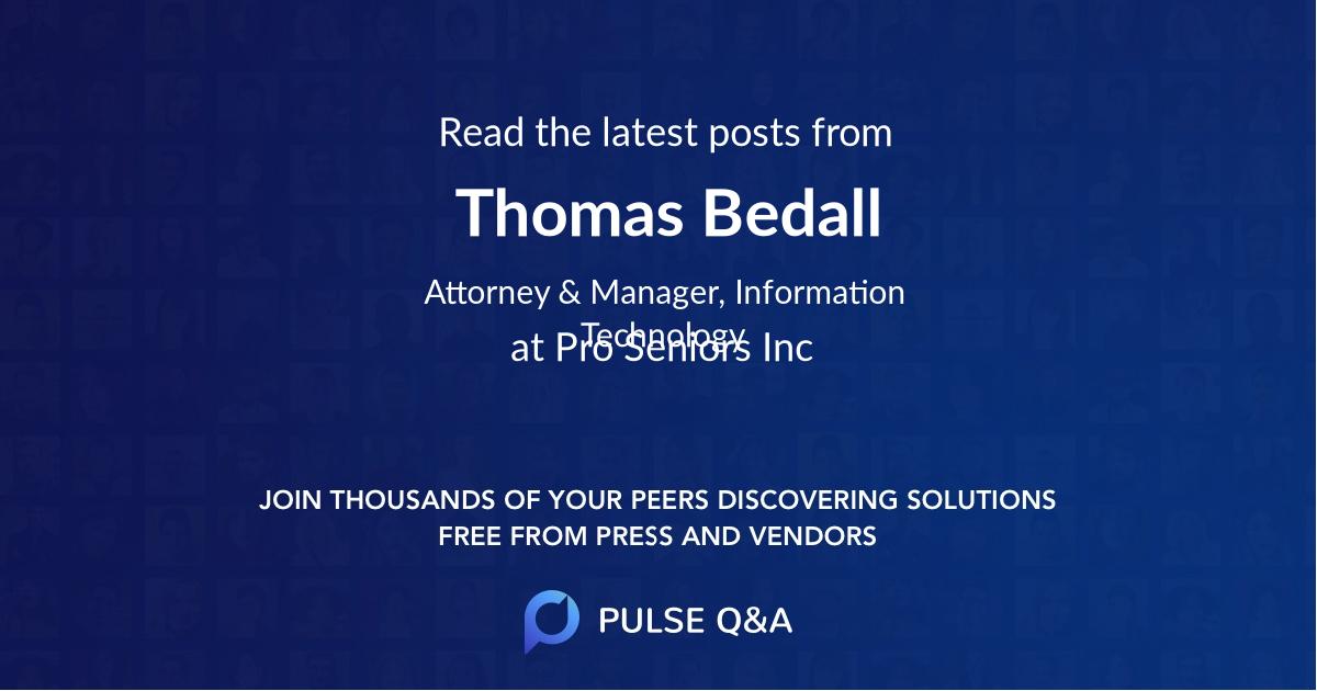 Thomas Bedall