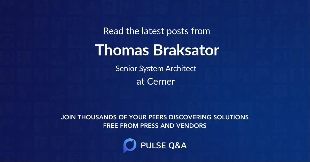 Thomas Braksator