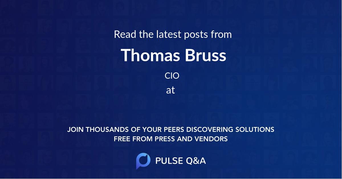 Thomas Bruss