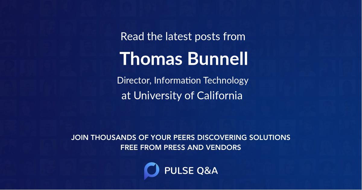 Thomas Bunnell