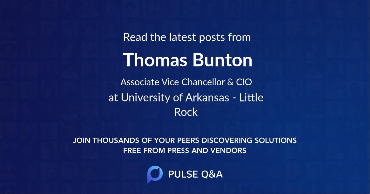 Thomas Bunton
