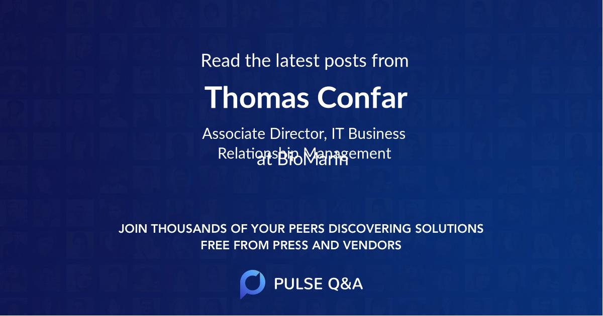 Thomas Confar