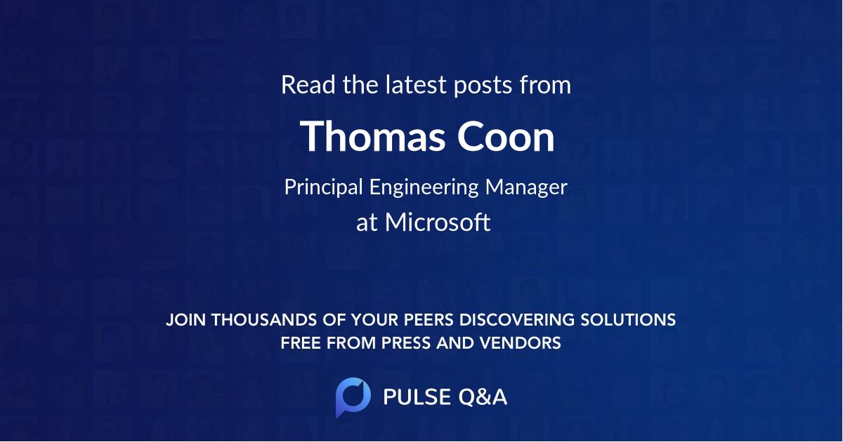 Thomas Coon