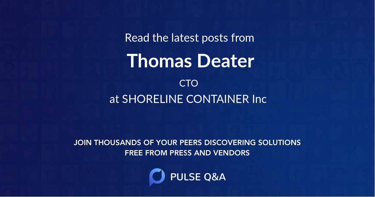 Thomas Deater