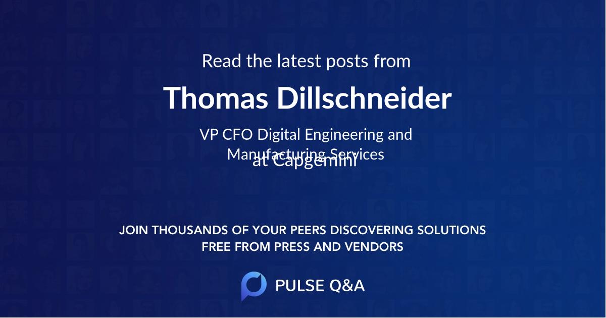 Thomas Dillschneider