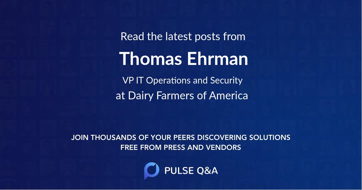 Thomas Ehrman