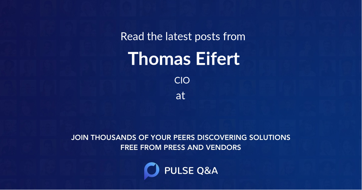 Thomas Eifert