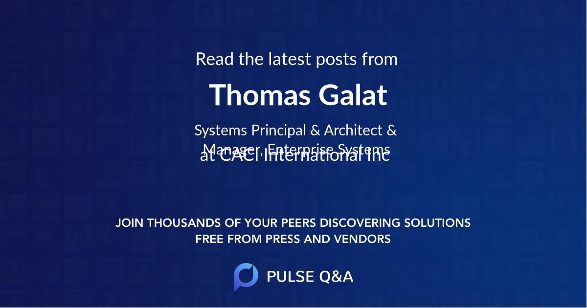 Thomas Galat