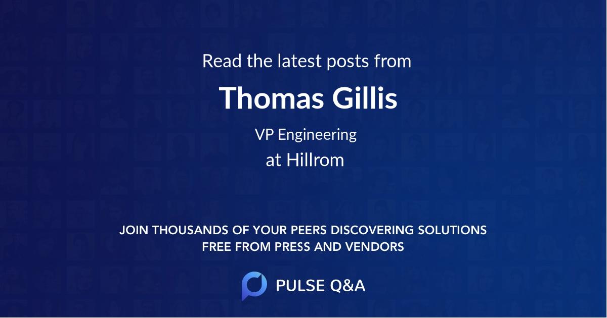 Thomas Gillis