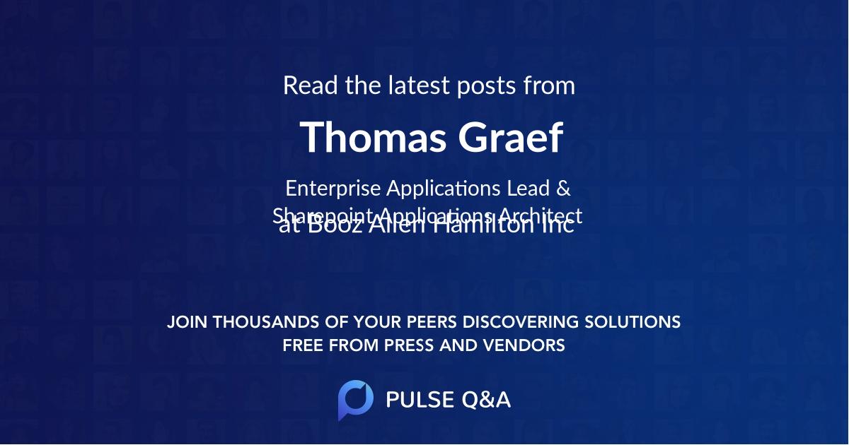 Thomas Graef