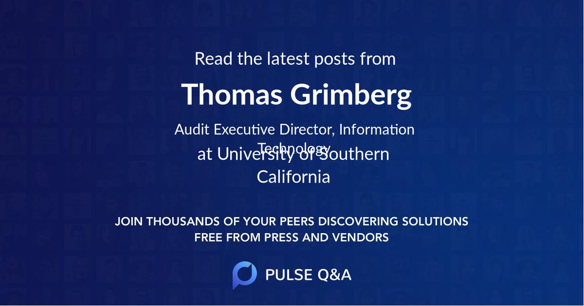 Thomas Grimberg