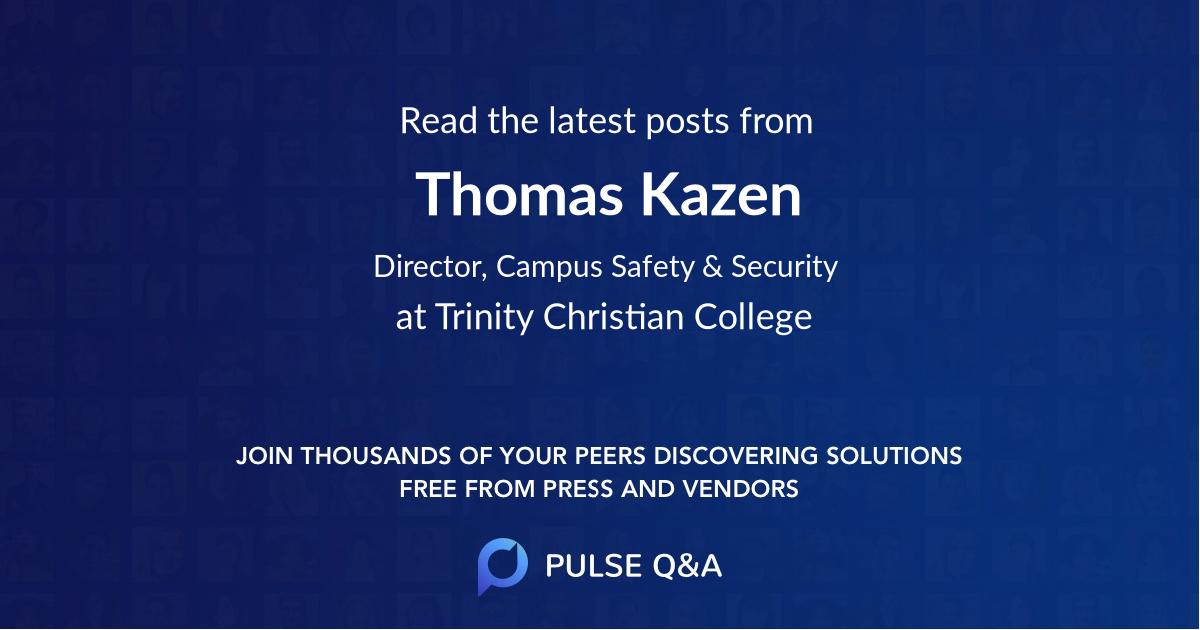Thomas Kazen