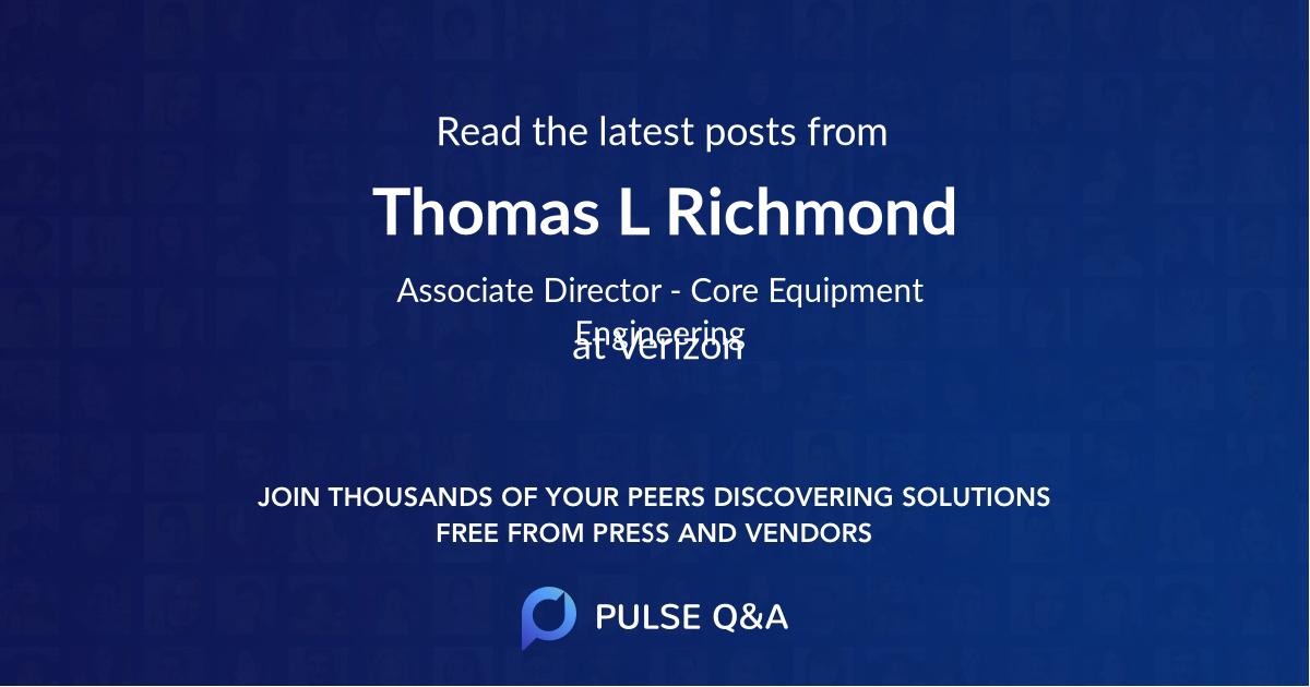 Thomas L. Richmond