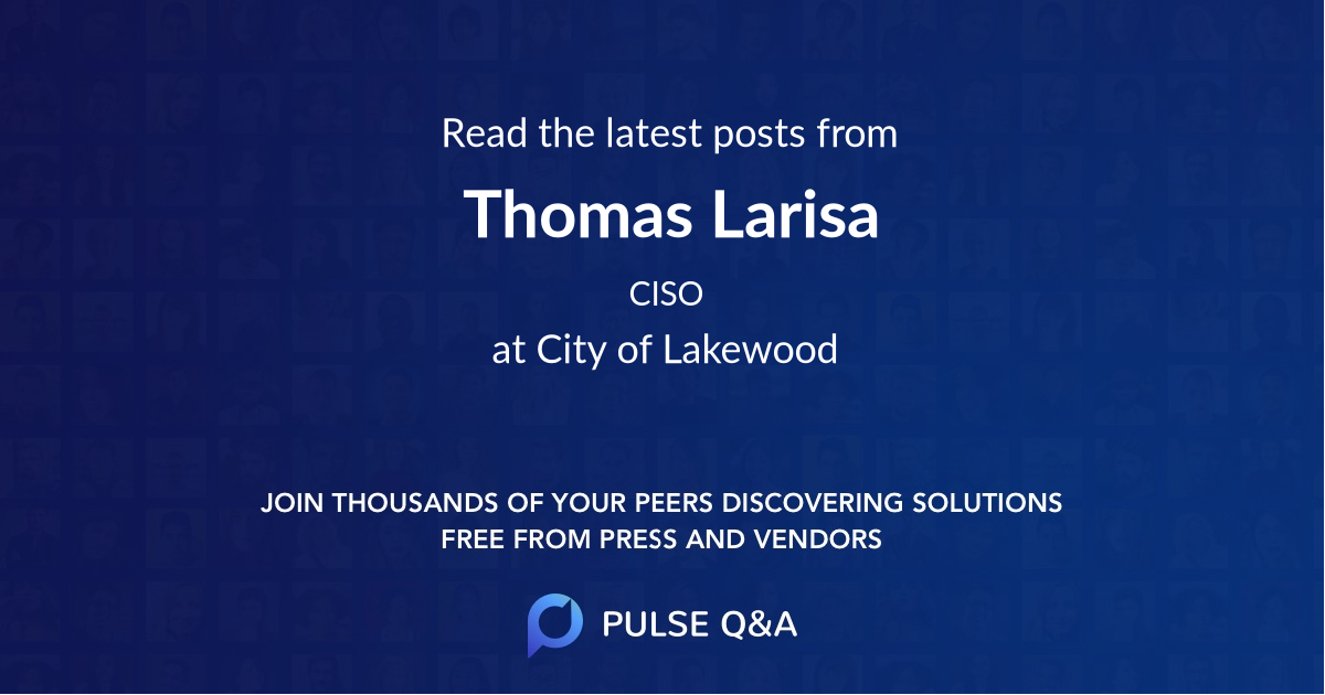 Thomas Larisa