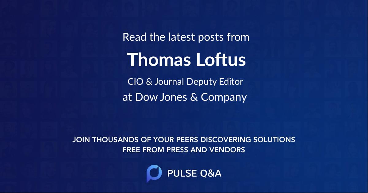 Thomas Loftus