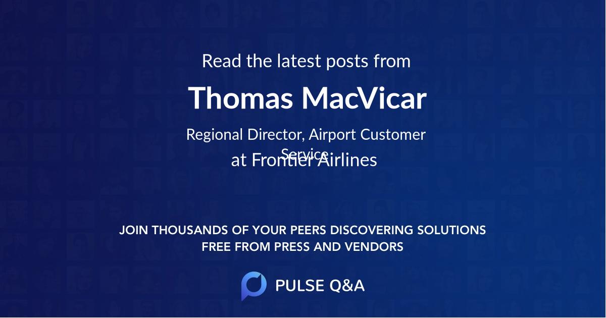 Thomas MacVicar