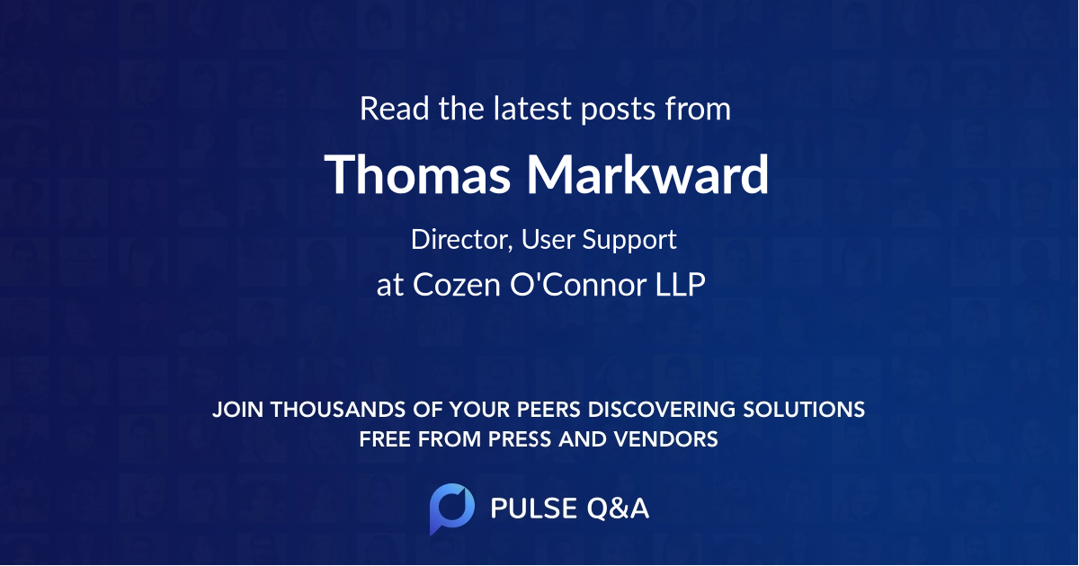Thomas Markward
