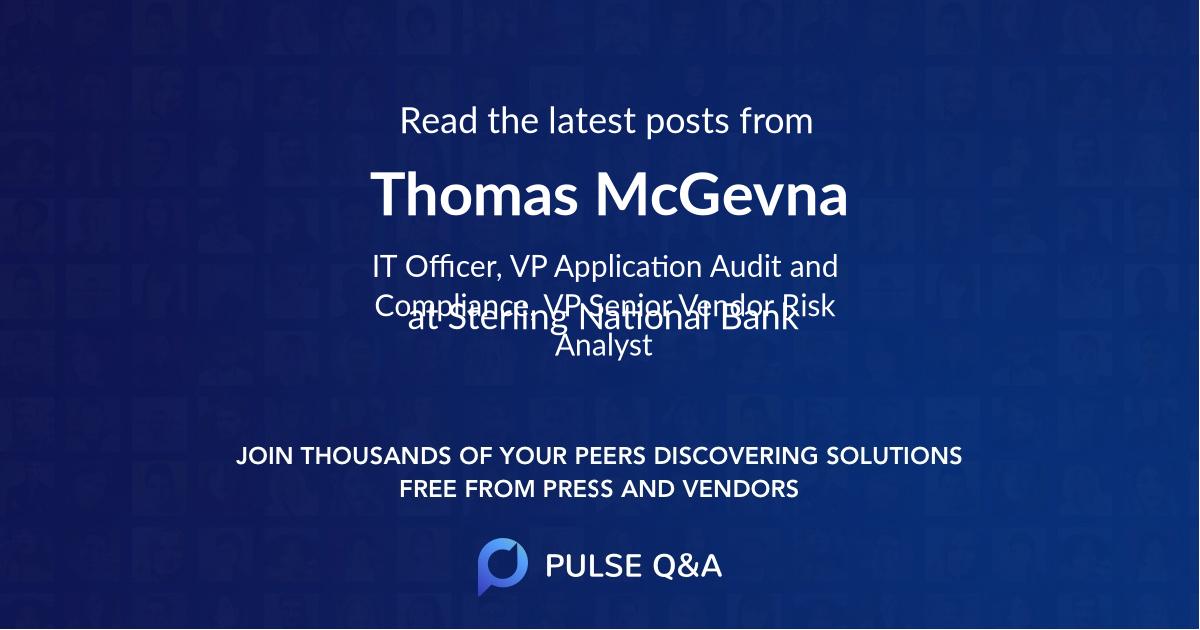 Thomas McGevna