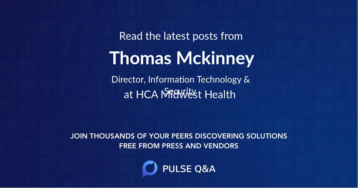 Thomas Mckinney