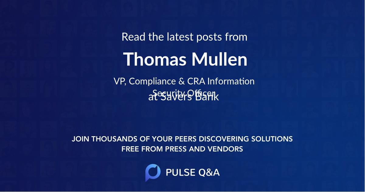 Thomas Mullen