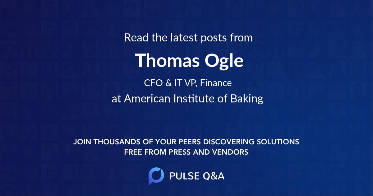 Thomas Ogle