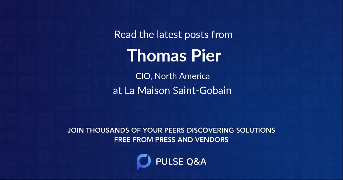 Thomas Pier